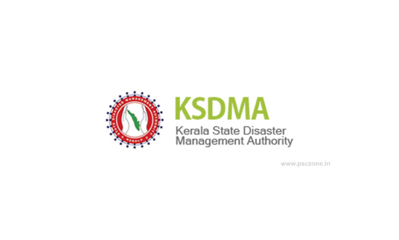 Photo of Kerala State Disaster Management Authority (KSDMA) Notification 2020